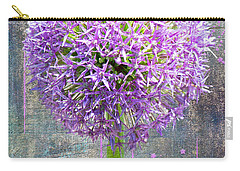 Carry-all Pouch featuring the photograph Onion by Larry Bishop