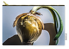 Onion Skin And Shadow Carry-all Pouch by Bob Orsillo