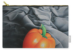 Only Orange Carry-all Pouch by Pamela Clements