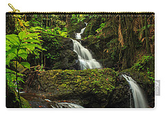 Onomea Falls Carry-all Pouch by James Eddy