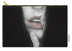 Carry-all Pouch featuring the painting Onus Memoriae by Pat Erickson