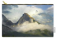 Opal Range In Fog Kananaskis Country Carry-all Pouch