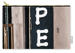 Carry-all Pouch featuring the photograph Open For Business by Sennie Pierson