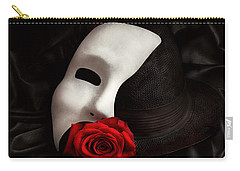 Opera - Mystery And The Opera Carry-all Pouch by Mike Savad