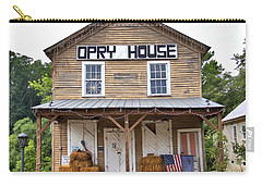Carry-all Pouch featuring the photograph Opry House - Square by Gordon Elwell