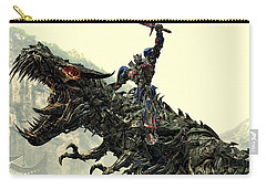 Optimus Prime Riding Grimlock Carry-all Pouch