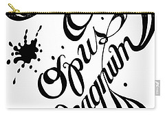 Opus Magnum Carry-all Pouch by Carol Jacobs