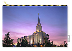 Oquirrh Mountain Temple Iv Carry-all Pouch