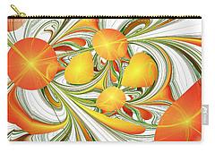 Orange Attitude Carry-all Pouch