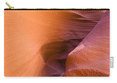 Orange Canyon Carry-all Pouch by Bryan Keil
