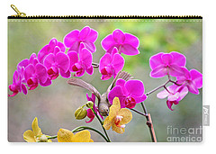 Warbler On Orchards Photo Carry-all Pouch by Luana K Perez