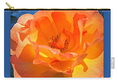 Orange Delight -  Images From The Garden Carry-all Pouch