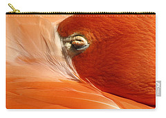 Flamingo Orange Eye Carry-all Pouch