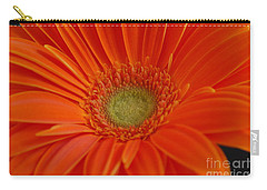 Orange Gerber Daisy Carry-all Pouch