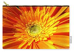 Orange Gerbera Carry-all Pouch