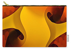 Orange Glow Carry-all Pouch