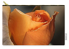 Carry-all Pouch featuring the photograph Orange Mood by Joy Watson
