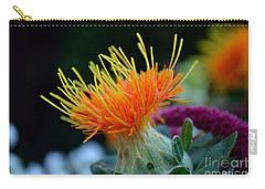 Orange Safflower Carry-all Pouch