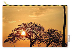 Orange Sunset Carry-all Pouch by Pamela Walton