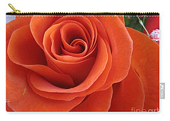 Orange Twist Rose 2 Carry-all Pouch