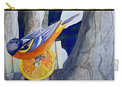 Oranges And Orioles Carry-all Pouch