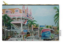 Oranjestad Aruba Carry-all Pouch by Frank Hunter