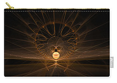 Carry-all Pouch featuring the digital art Orb by GJ Blackman