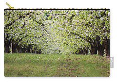 Carry-all Pouch featuring the photograph Orchard by Patricia Babbitt