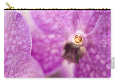 Carry-all Pouch featuring the photograph Orchid by Bradley R Youngberg