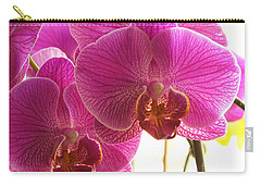 Carry-all Pouch featuring the photograph Orchid by Lingfai Leung