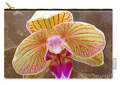 Orchid On Marble Carry-all Pouch