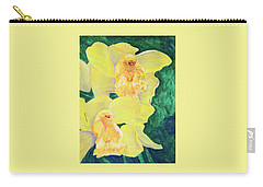 Orchid Yellow Carry-all Pouch