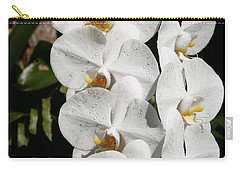Orchids Anna Carry-all Pouch by The Art of Alice Terrill