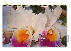 Orchid Elsie Sloan Carry-all Pouch by The Art of Alice Terrill