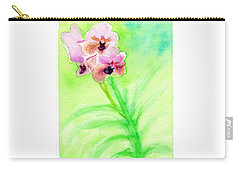Orchids Carry-all Pouch by C Sitton