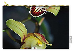 Orchids In The Evening Carry-all Pouch by Kaye Menner