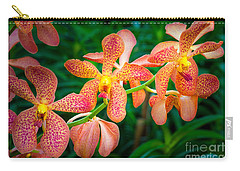 Orchids Carry-all Pouch by Inge Johnsson