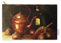 Carry-all Pouch featuring the painting Ordinary Pleasures by Hazel Holland