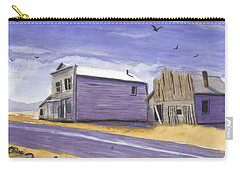 Oregon Ghost Town Watercolor Carry-all Pouch