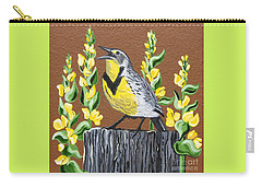 Oregon Meadowlark Carry-all Pouch