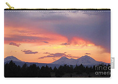 Oregon's Three Sisters  Carry-all Pouch