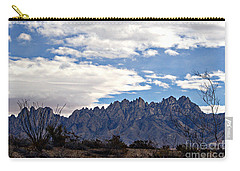 Organ Mountain Landscape Carry-all Pouch by Barbara Chichester