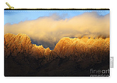 Organ Mountains Symphony Of Light Carry-all Pouch by Bob Christopher