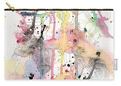 Organic Clash Carry-all Pouch by Rebecca Davis