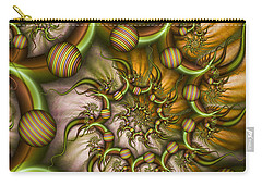Organic Playground Carry-all Pouch by Gabiw Art