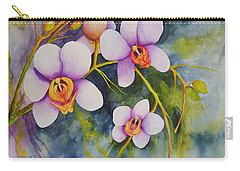 Orchids In My Garden Carry-all Pouch