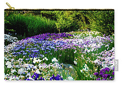 Oriental Ensata Iris Garden Carry-all Pouch