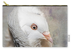Oriental Frill Pigeon Carry-all Pouch by Betty LaRue