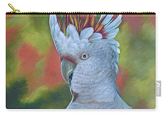 Original Animal Oil Painting Art -parrot #16-2-5-17 Carry-all Pouch