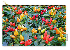 Ornamental Peppers Carry-all Pouch